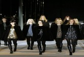 Saint Laurent Outono-Inverno 2014/15 | Paris Fashion Week